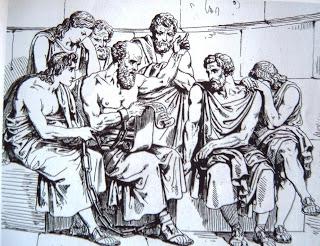 Socrates y sus discipulos